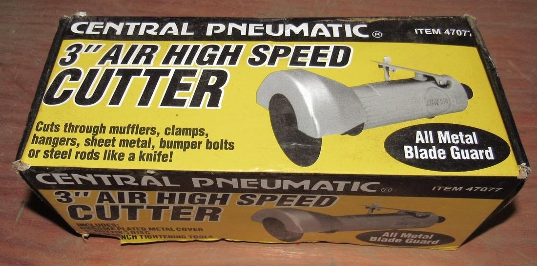 """Central Pneumatic 3"""" High Speed Air Cutter NEW !"""