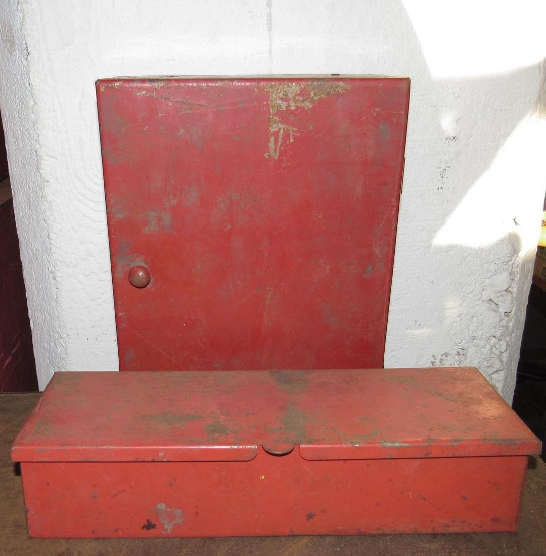 Hanging Industrial Cabinet and Tool Box