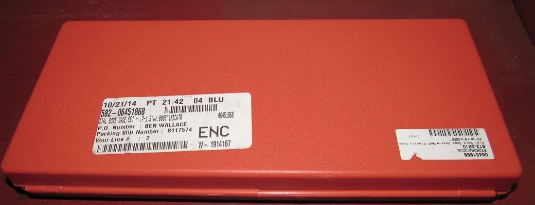 MHC Dial Bore Gage Set - 4