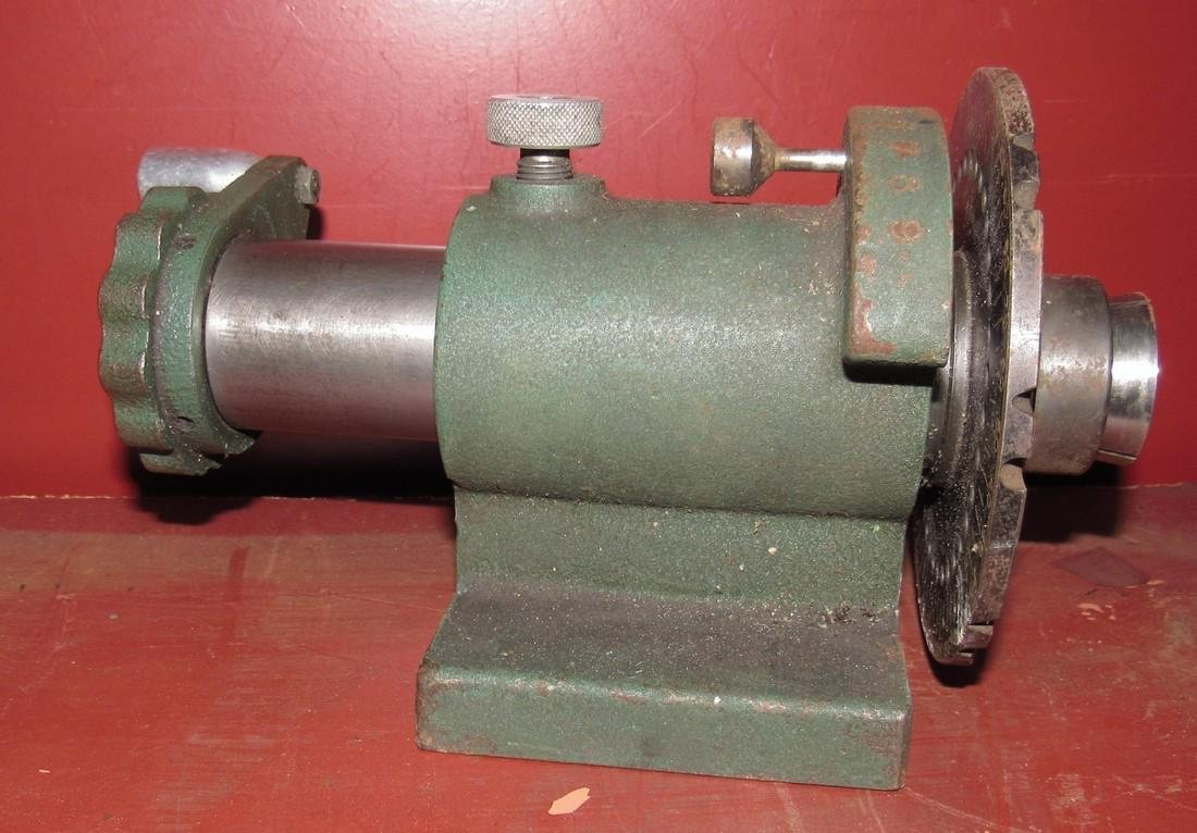 Lathe Collet Spin Index