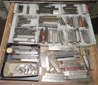 Lathe Cutters and End Mills