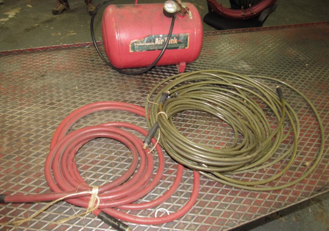 5 Gallon Air Tank & Mac Air Hose