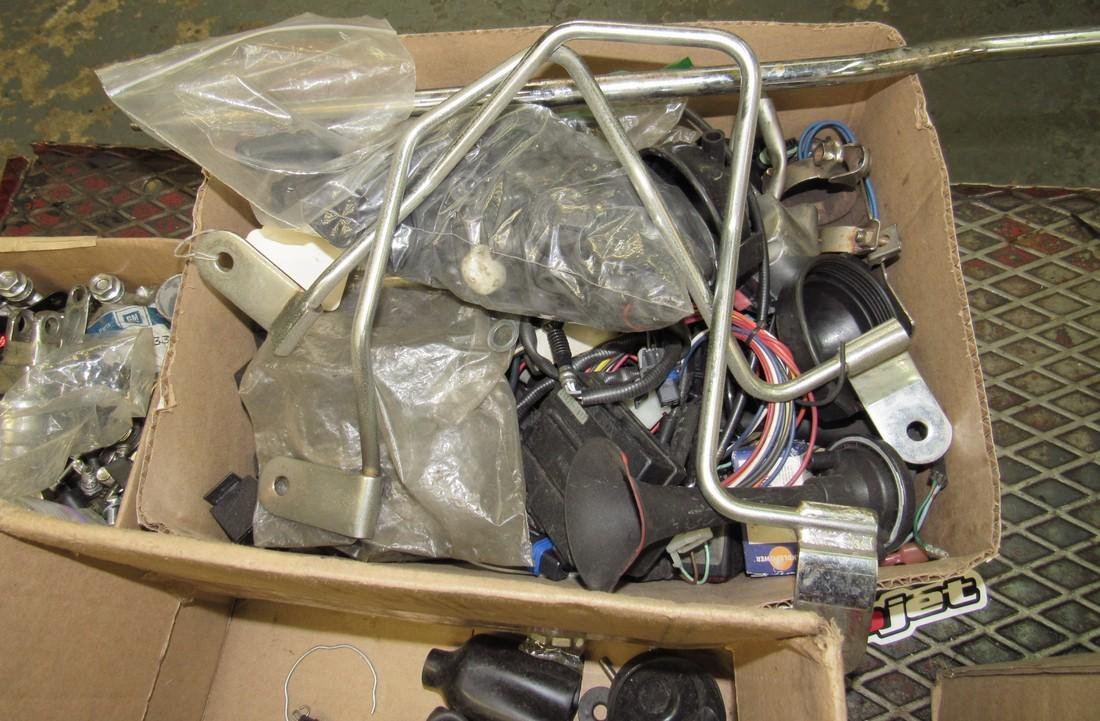 9 Boxes of Misc Used Motorcycle Parts - 3