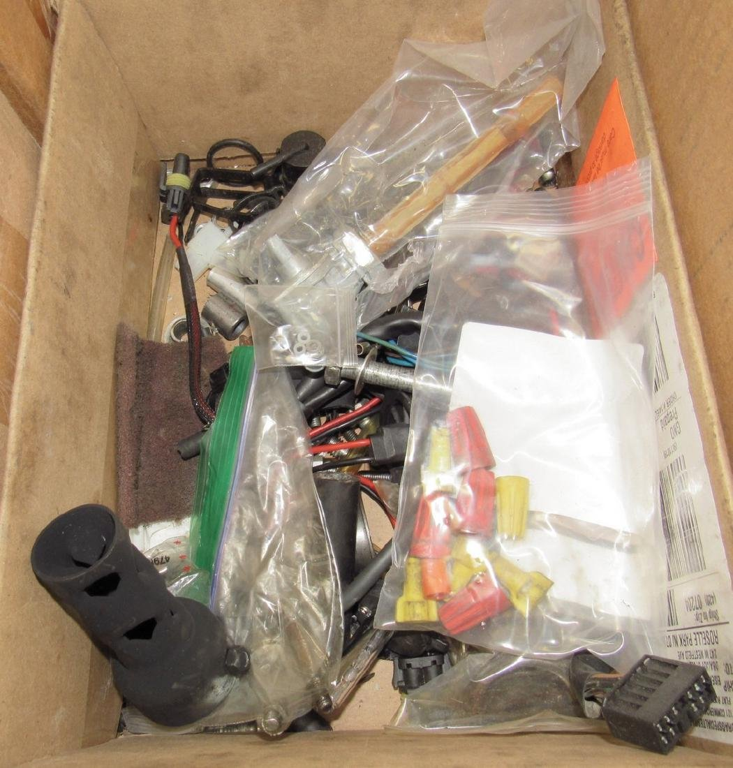 9 Boxes of Misc Used Motorcycle Parts - 7