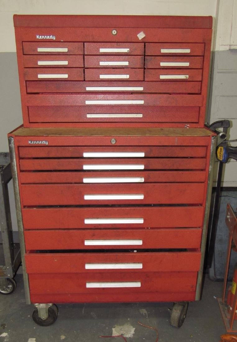 Kennedy Rolling Stacking Tool Box