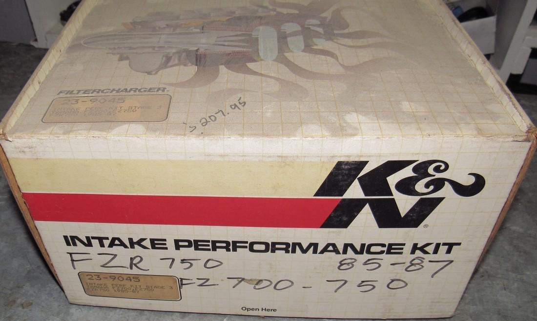 Yamaha FZ700 FZ750 1985-87 Intake Air Performance Kit