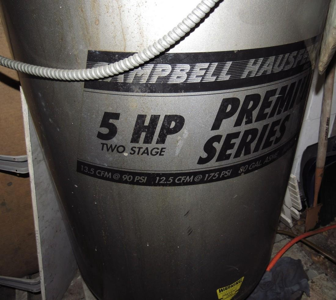 Campbell Hausfeld 5hp Two Stage Air Compressor - 3