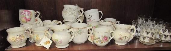 Antique Shaving Mugs