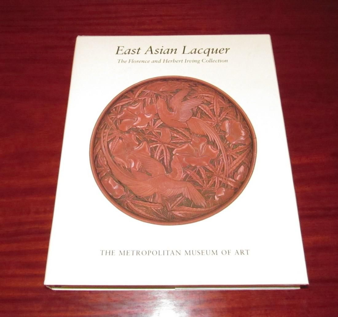 East Asian Lacquer Book Florence & Herbert Irving