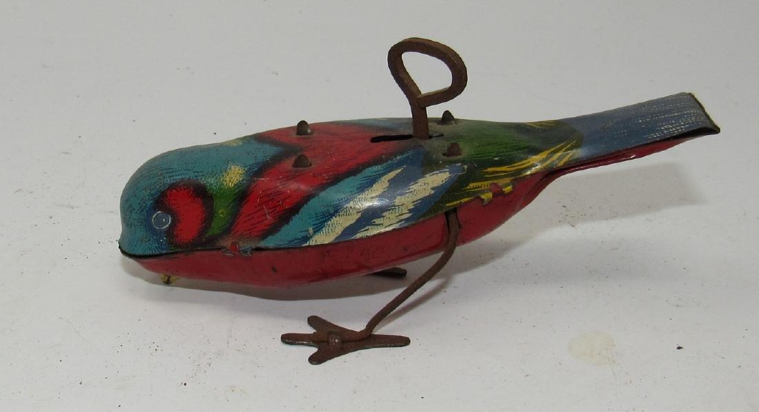 Tin Wind Up Bird