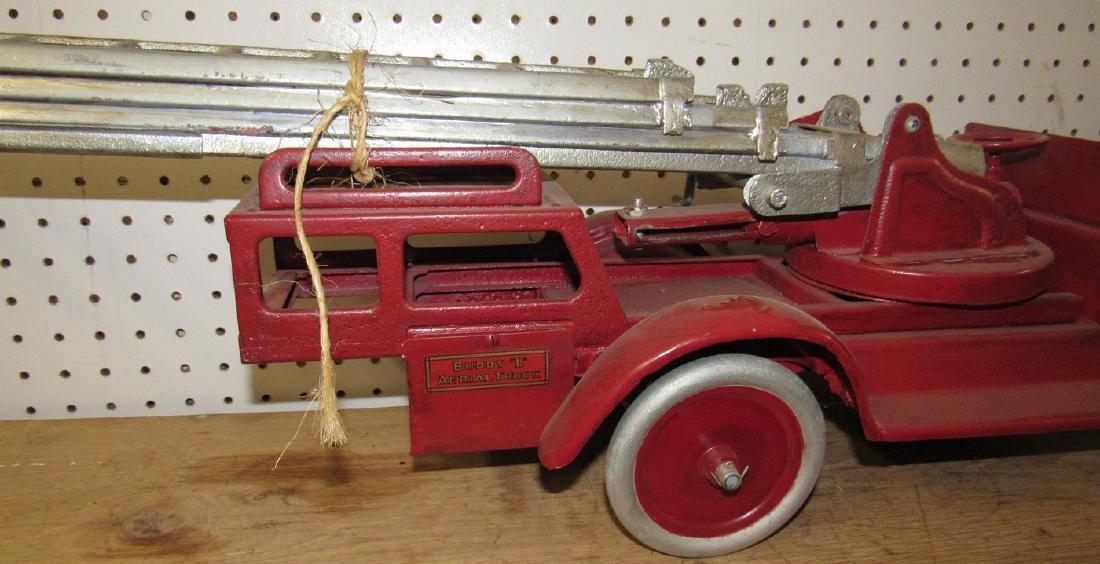 Buddy L Aerial Fire Truck - 3