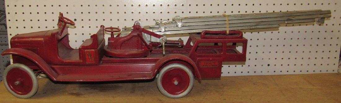 Buddy L Aerial Fire Truck - 6