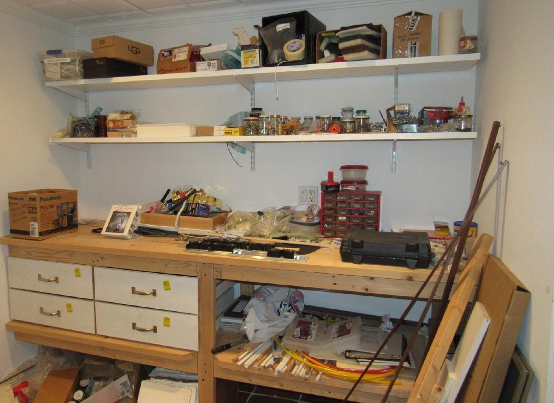 Partial Tool Room Contents