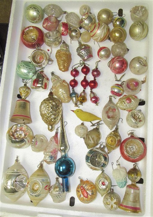 Antique Christmas Ornaments >> Antique Christmas Ornaments Mar 17 2019 M J Stasak Jr Auction