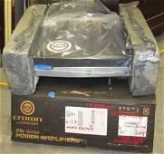 Crown by Harman 1500 Watt Power Amplifier CTS Series