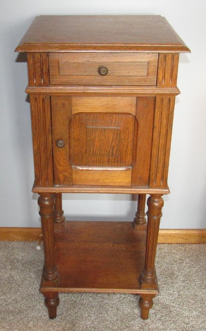 Oak Lamp Stand