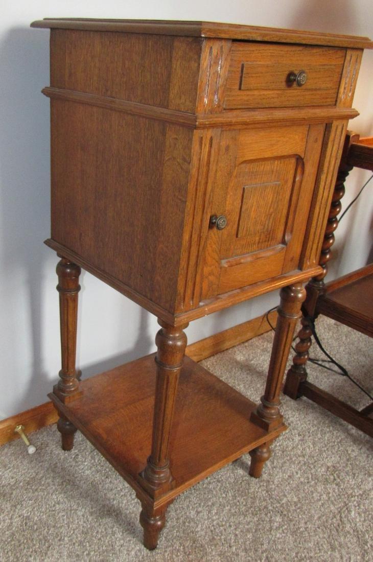 Oak Lamp Stand - 3