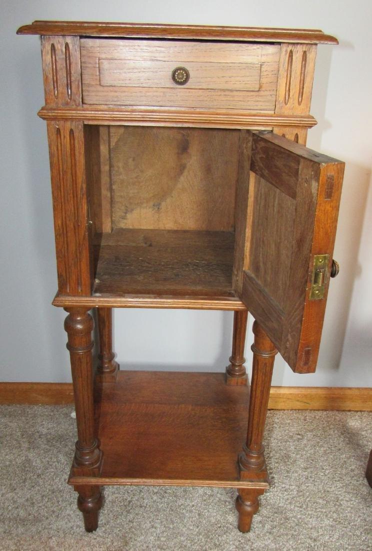 Oak Lamp Stand - 5