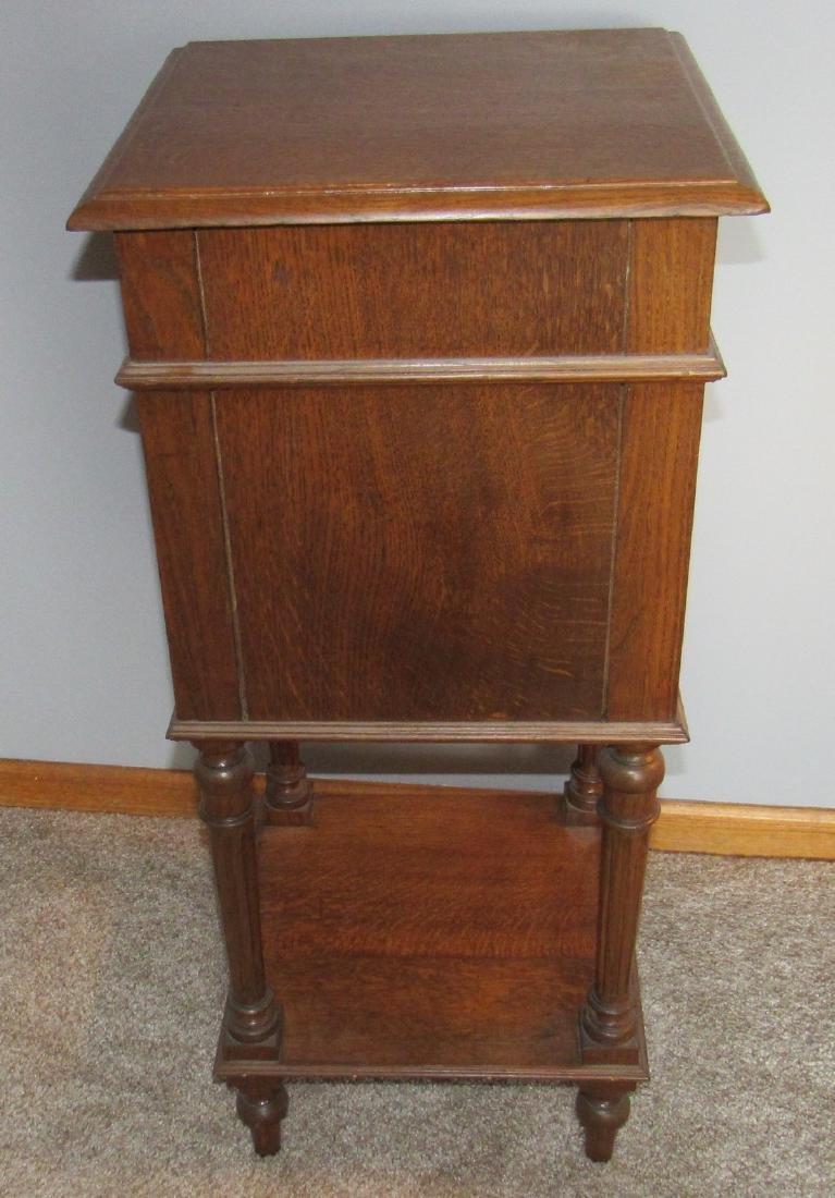 Oak Lamp Stand - 6