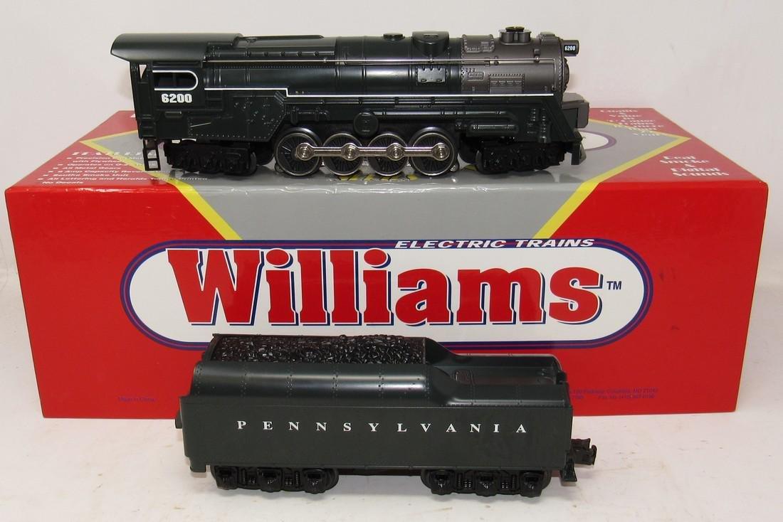 Williams 6200 Steam Locomotive PRR Green and Tender