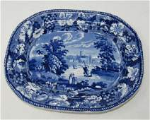 View of Worcester Historical Platter