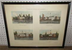 Fores's Sporting Scraps Boating Engraving by J Harris