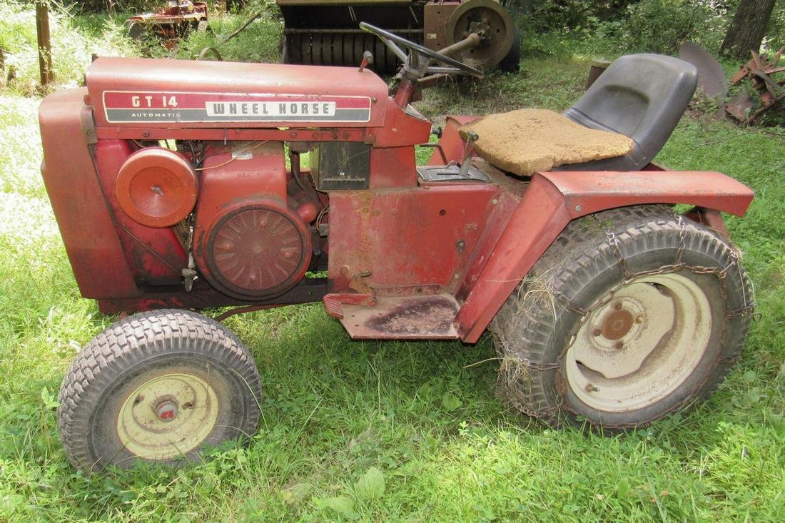 Wheel Horse Tractor with 3 Point Hitch 14 Hp Kohler Eng