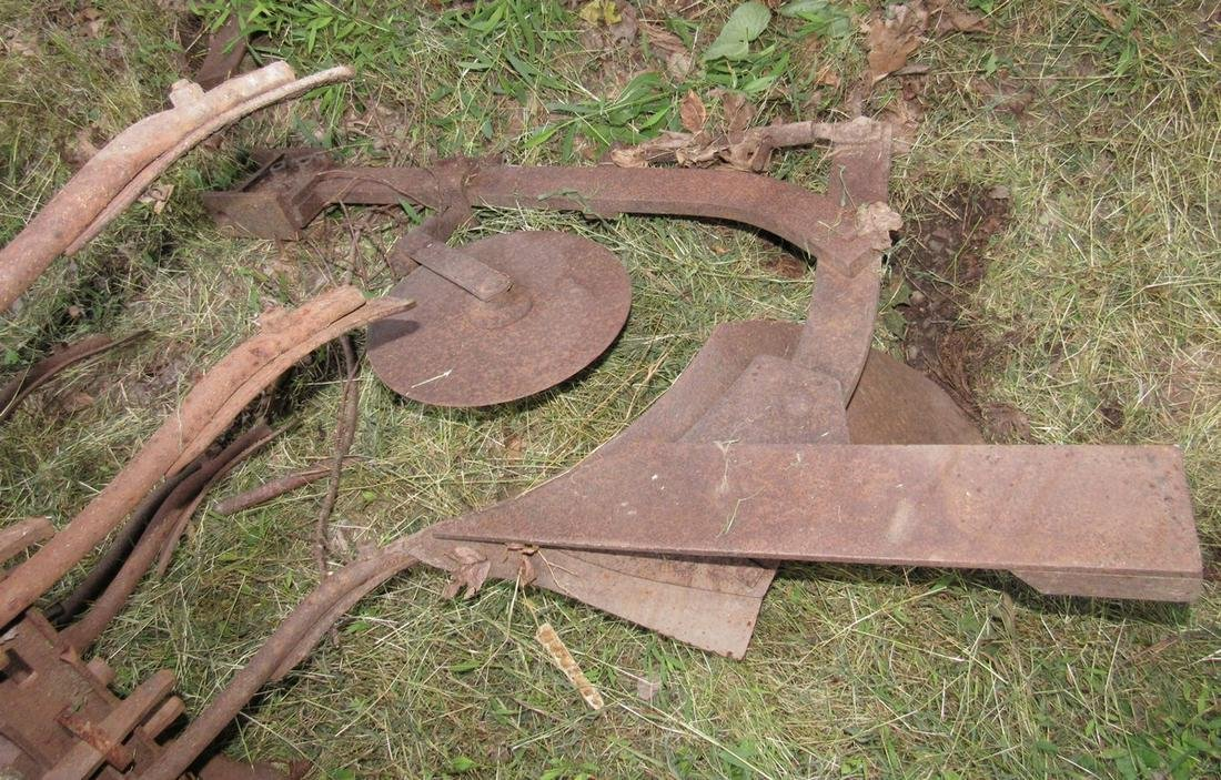 3 Point Hitch Plow Garden Tractor 1 Bottom Plow and