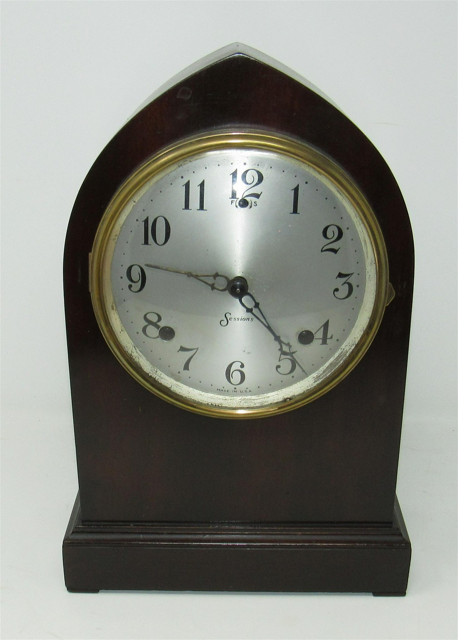 Standish Sessions Mantle Clock