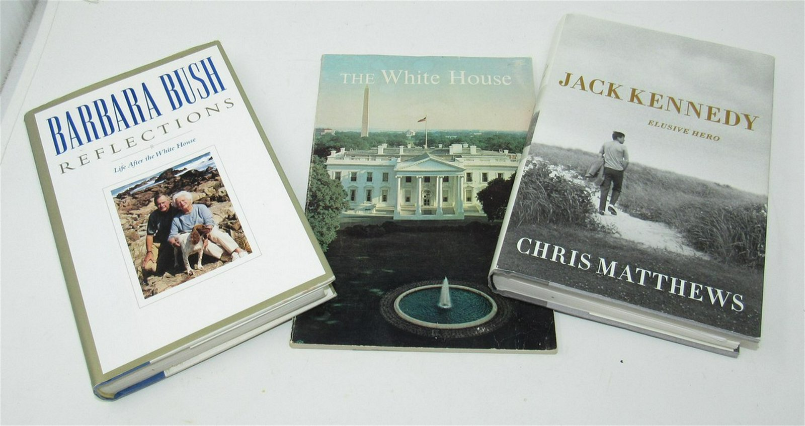 White House Barbara Bush Jack Kennedy Books
