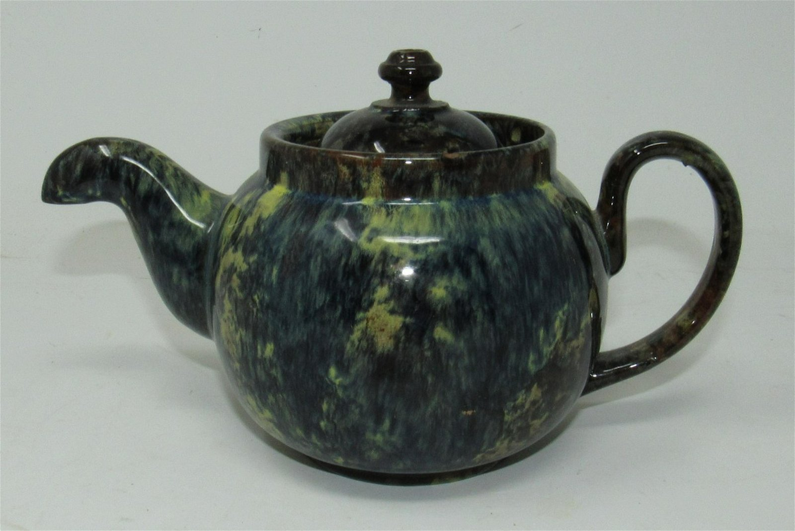 Glazed Teapot Made in England