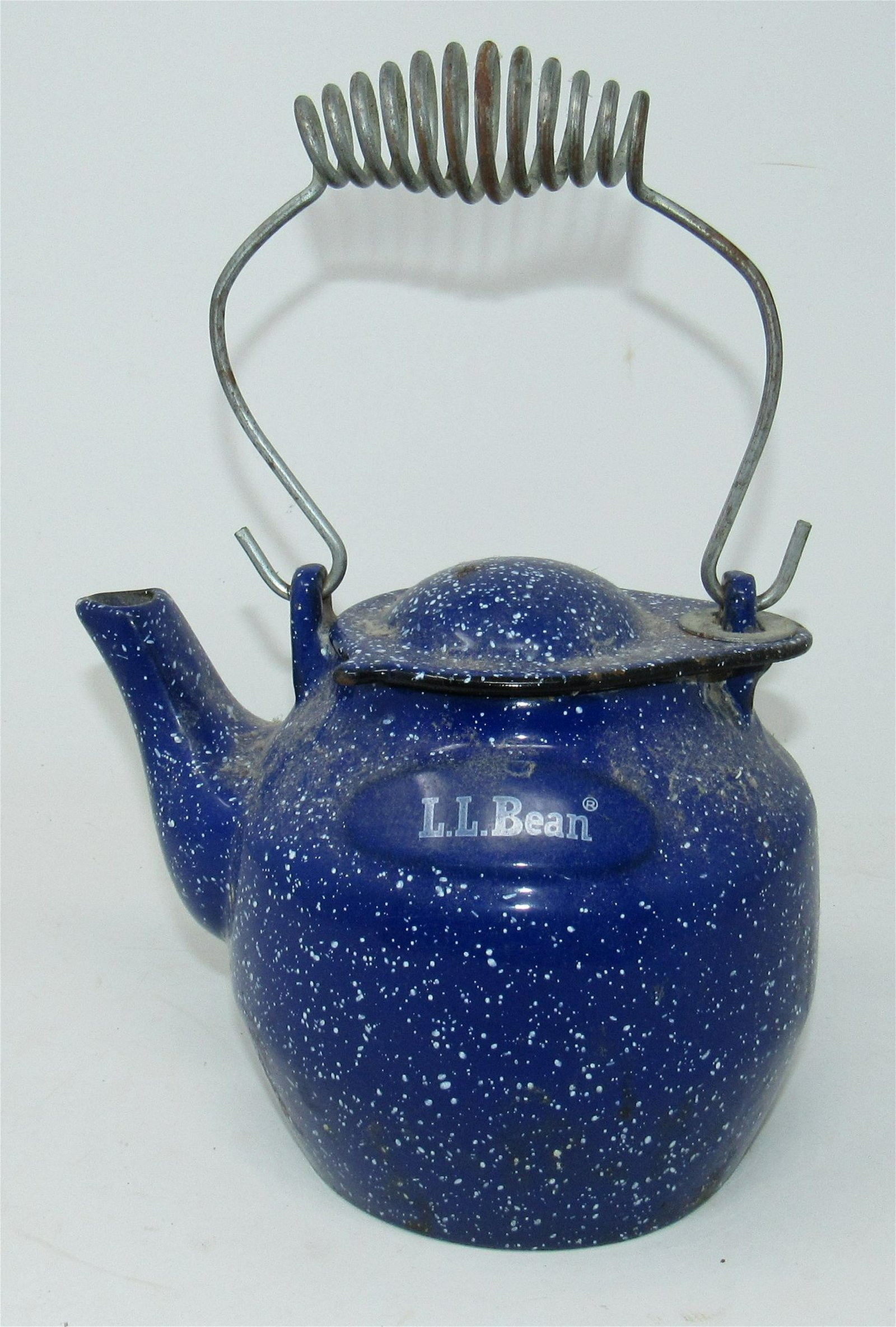 L.L. Bean Cast Iron Enameled Teapot