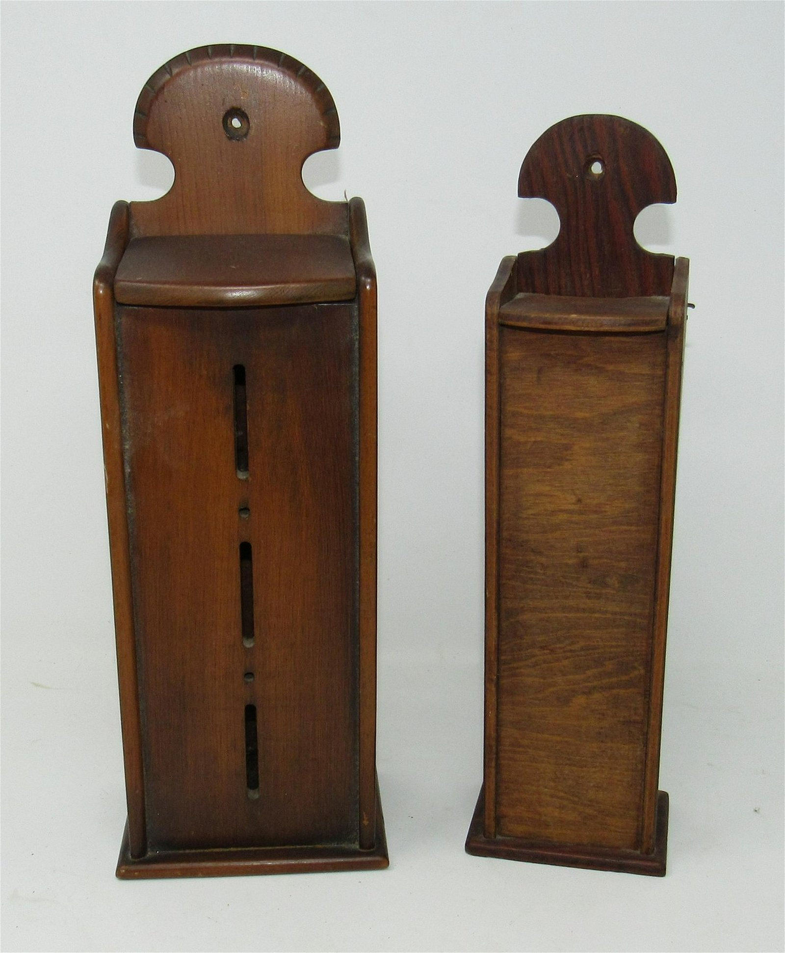 2 Woodenware Wall Boxes