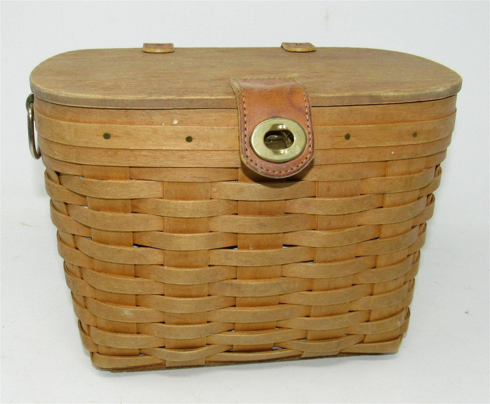 1997 Longaberger Purse Basket