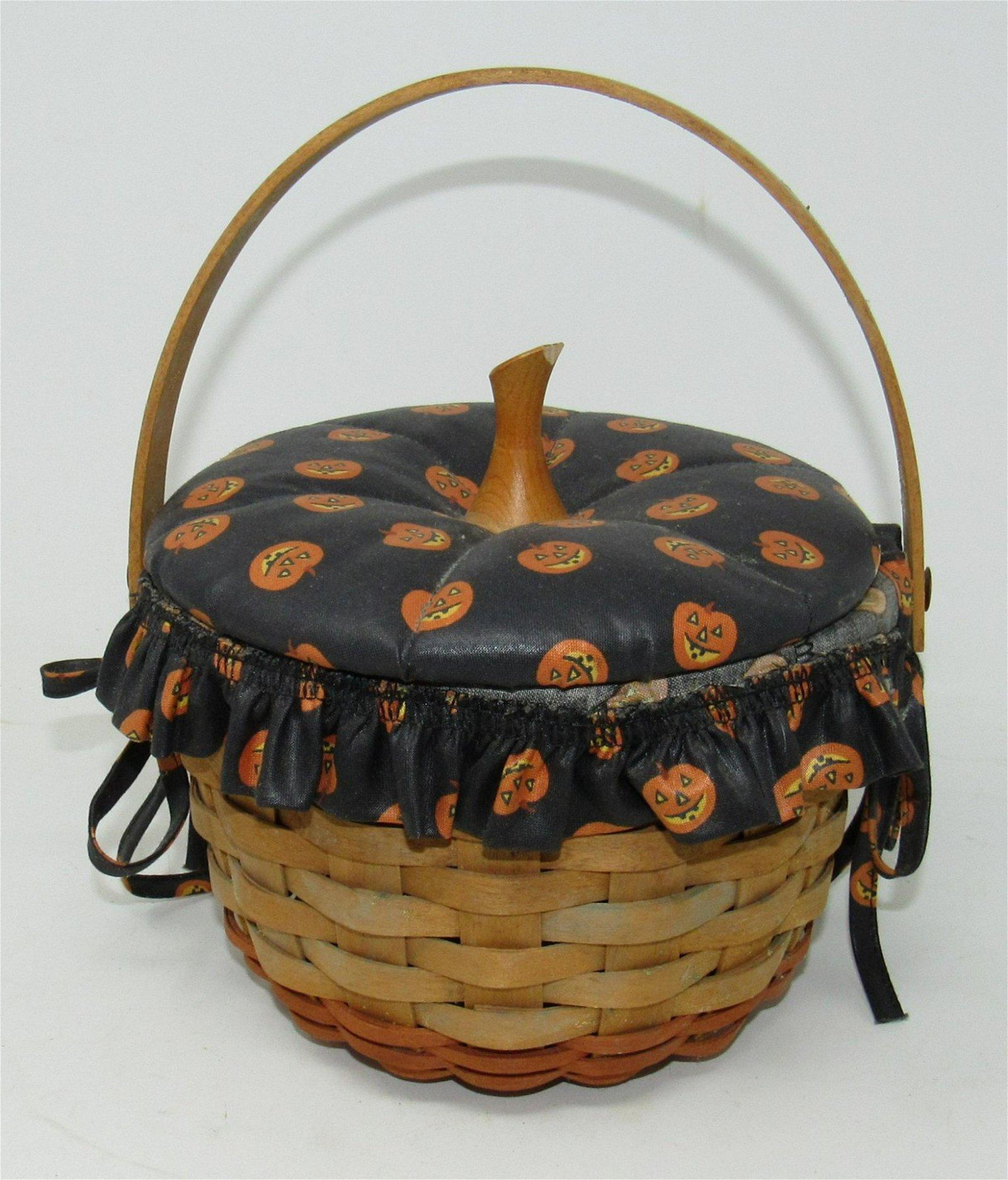 1996 Longaberger Halloween Basket