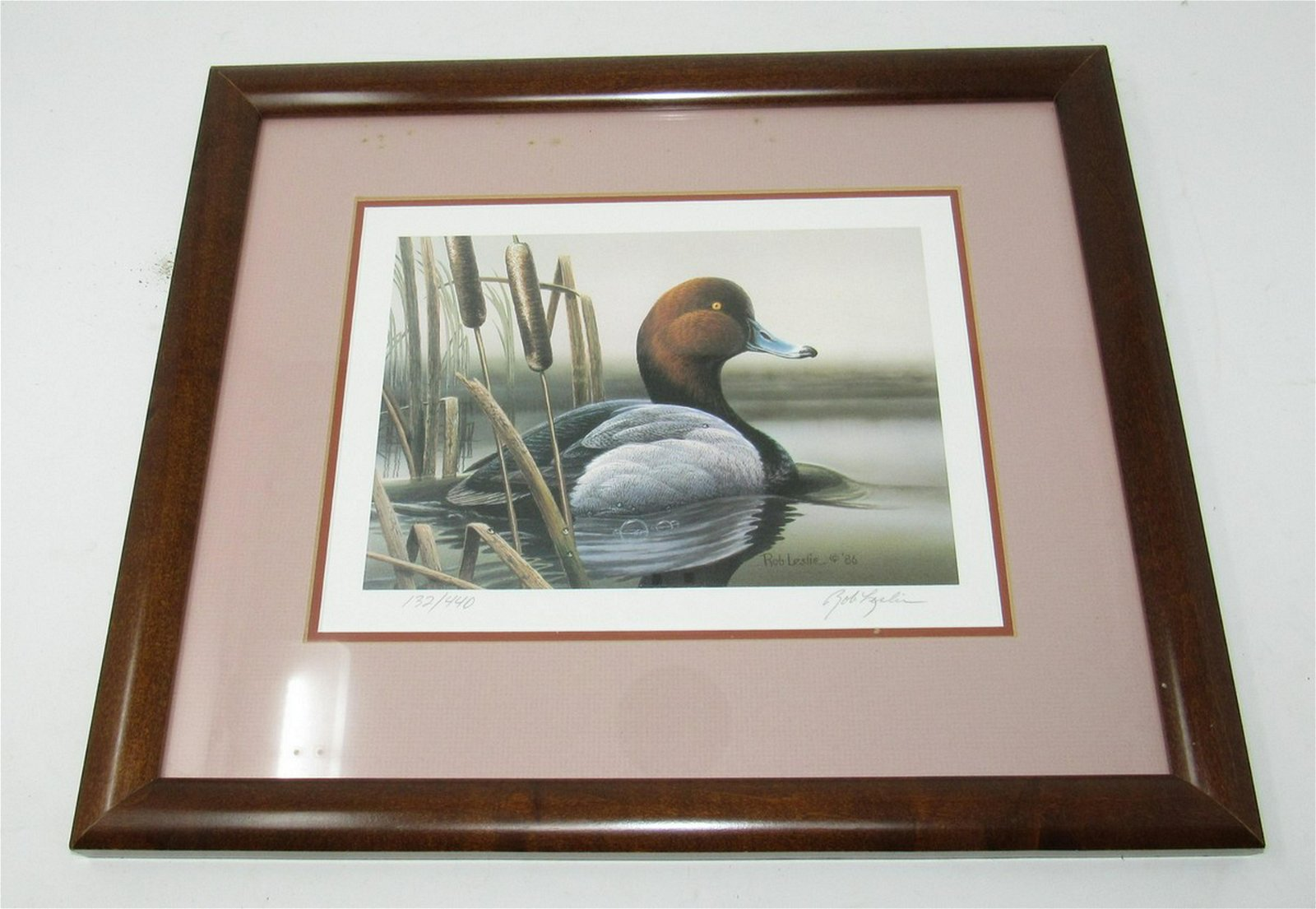 Bob Leslie Signed and Numbered Duck Print