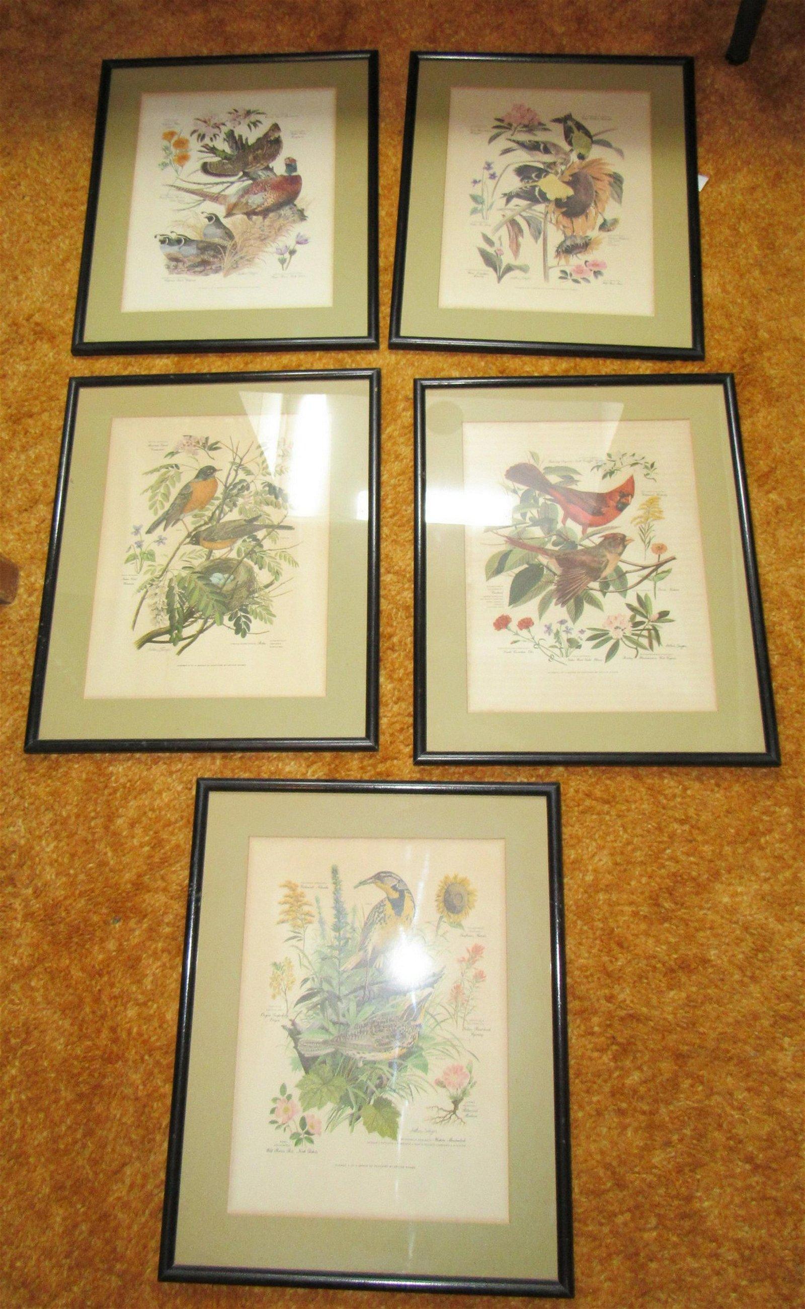 5 Arthur Singer Prints