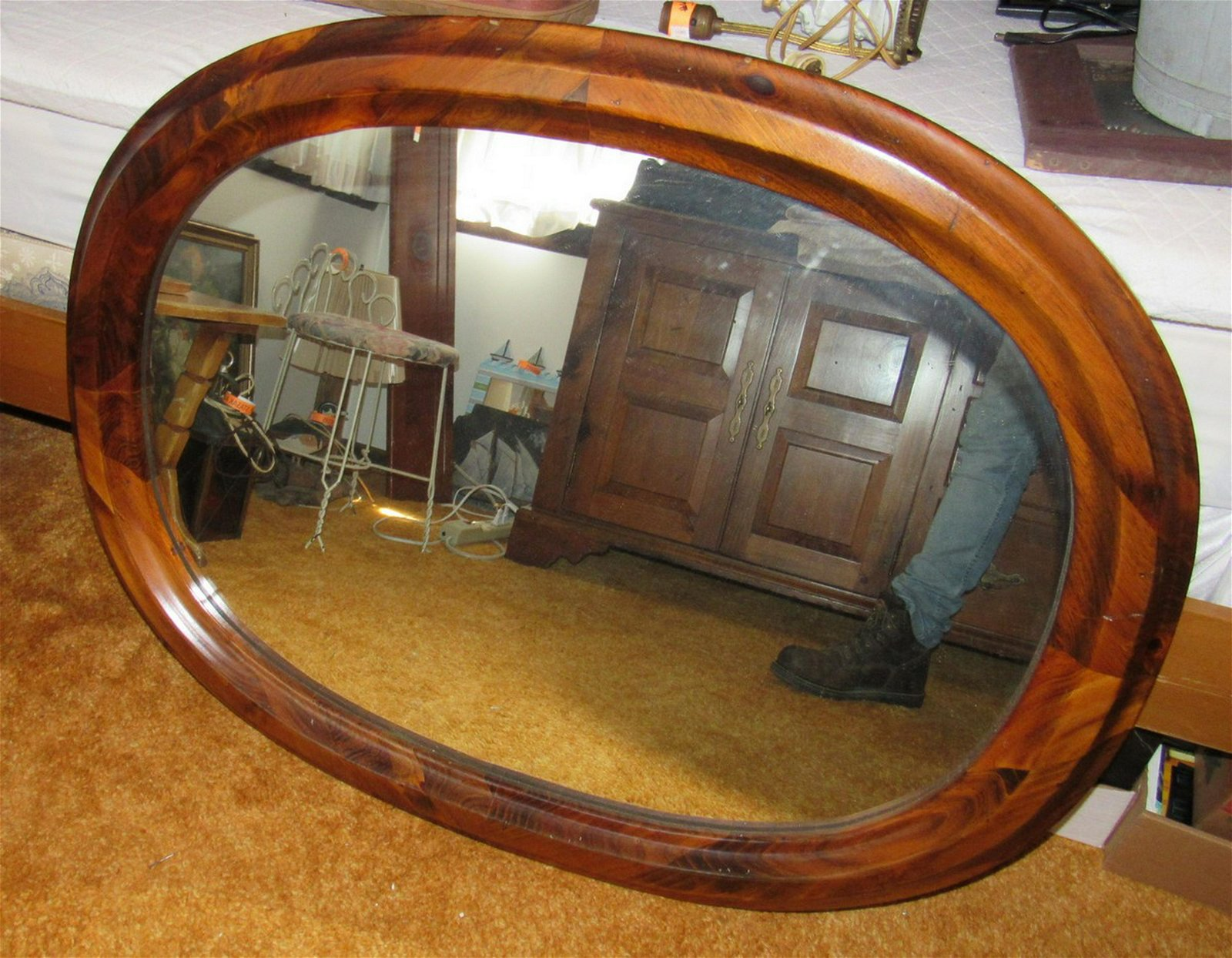 Colonial Style Mirror