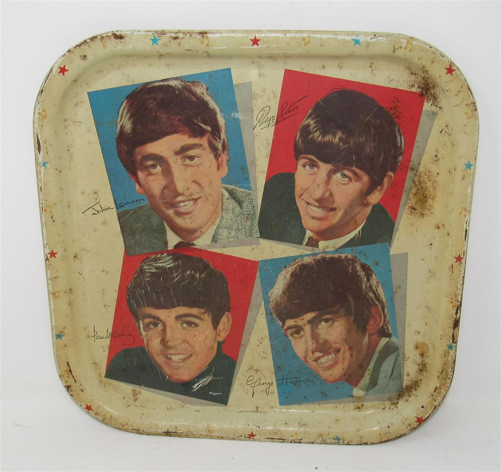 Worcester Ware Beatles Tray