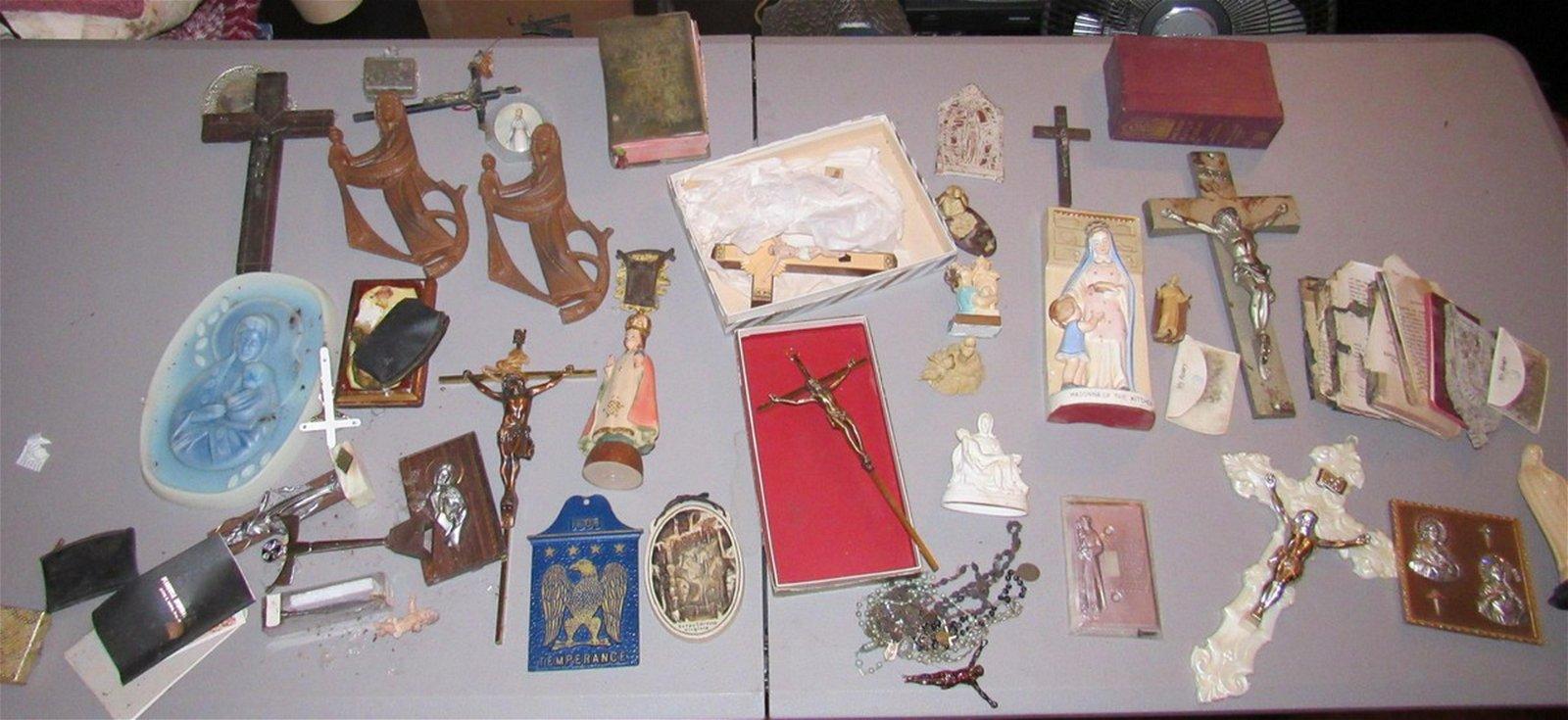 Table Contents of Religious Items