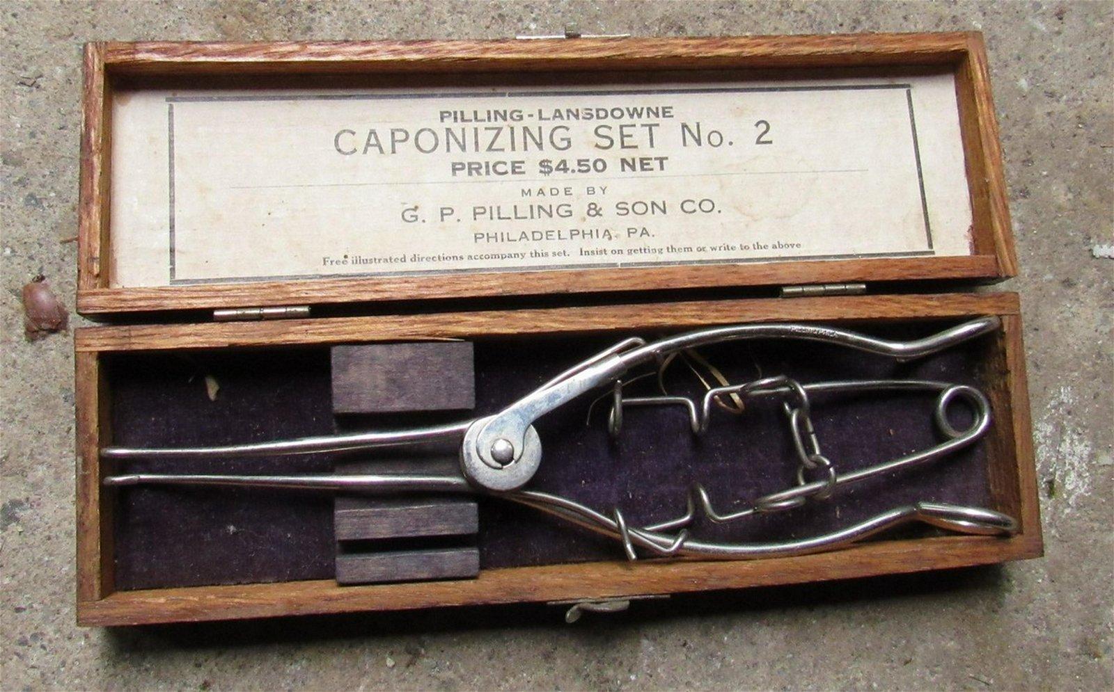 Pilling Lansdowne Caponizing Chicken Kit