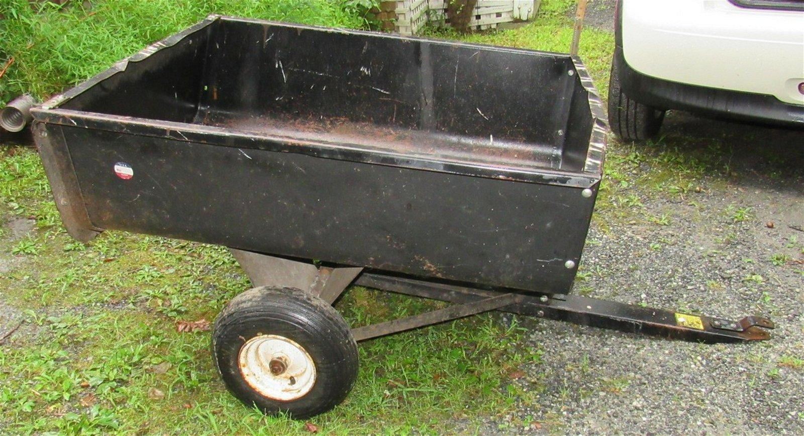 Brinly Garden Tractor Cart