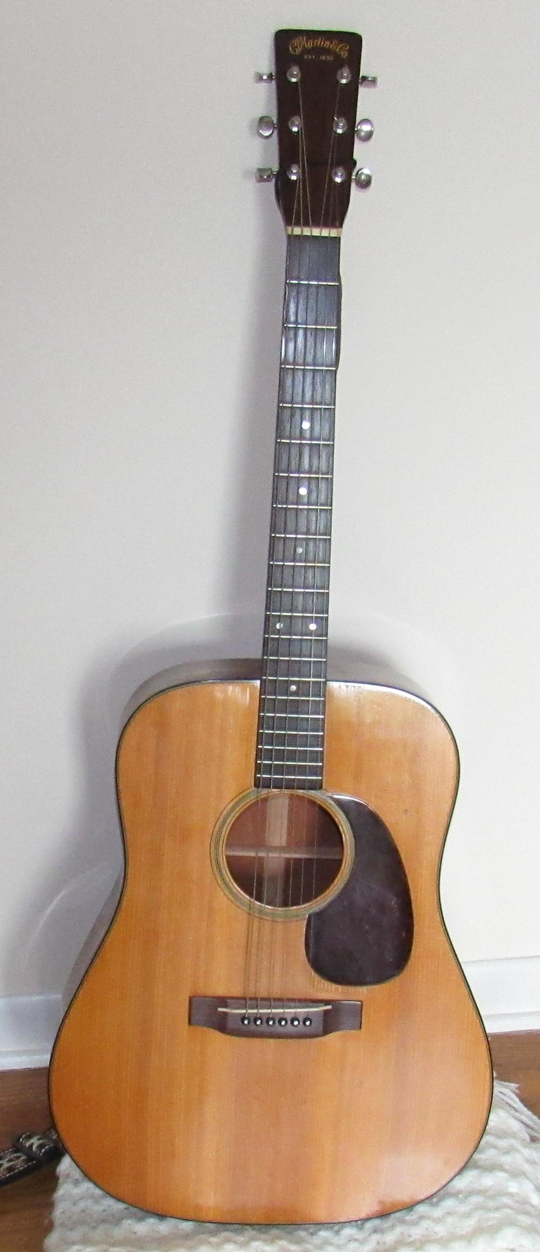 1948 Martin Acoustic Guitar D-18 Serial # 103936