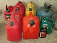 Gas Diesel Kerosene Cans