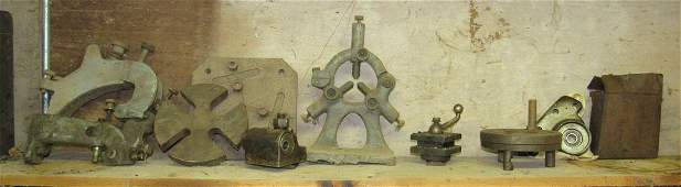 Lathe Bridgeport Parts and Misc
