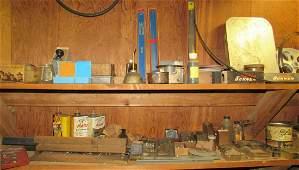 Machinist Parts Hardware Shelf Contents