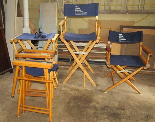 Excellent 6 Folding Wooden Producer Chairs Onthecornerstone Fun Painted Chair Ideas Images Onthecornerstoneorg