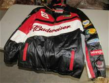 Dale Earnhardt Jr Wilson Leather Chase Racing Jacket