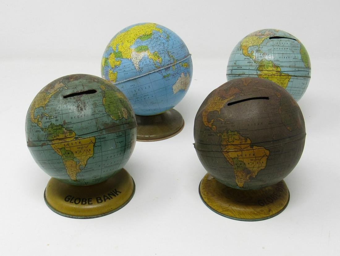 4 Globe Banks