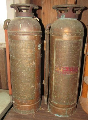 Copper Fire Extinguisher General Model
